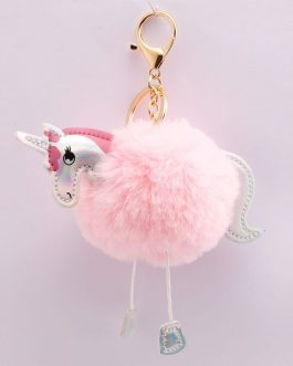 Unicorn Dangle Leg Keyring