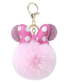 Minnie Ears Keyring Bagcharm