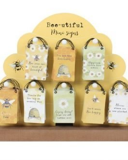 Mini Bee Sentiment Hanger